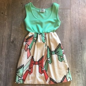 Judith March • Tank bow dress • small • EUC